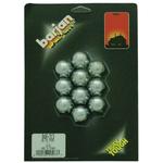 "048313 - Barjan 1"" Chrome Hex Nut Cover - 10 Per Card"