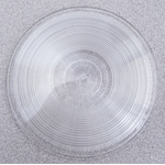 "04941015W - 4-1/4"" Round Clear Replacement Lens Cover"