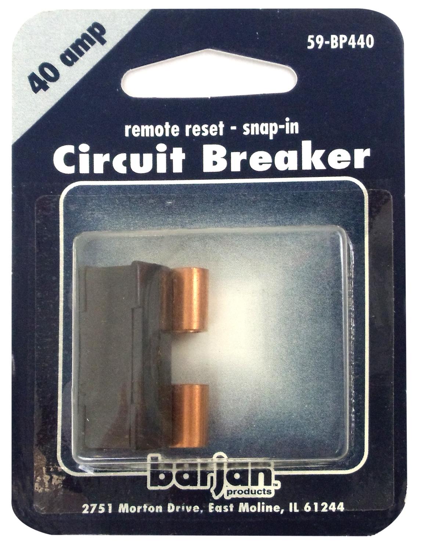 059BP440 - Remote Reset 40 Amp Circuit Breaker