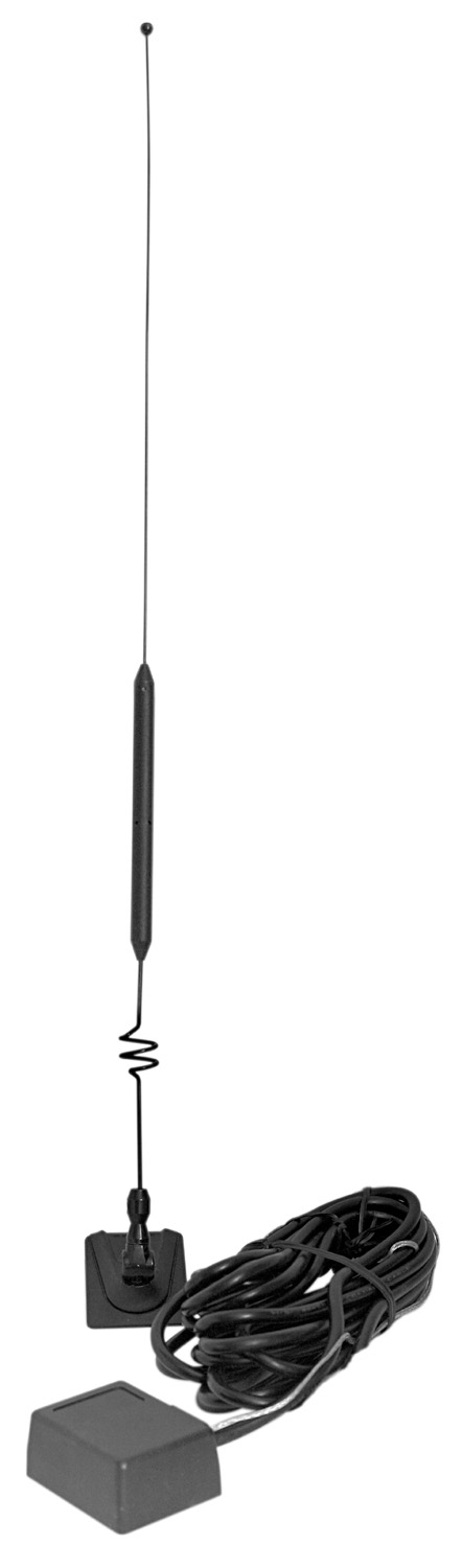 AUCBGM - 25 Inch Glass Mount CB Antenna Kit