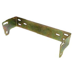 AU68 - Accessories Unlimited Brass Finish 2 Hole Replacement Mounting Bracket