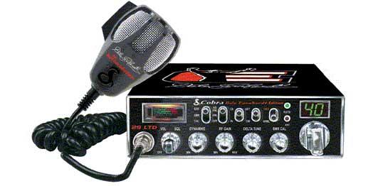 C29LTDDE - Cobra - Dale Earnhardt CB Radio Limited Edition