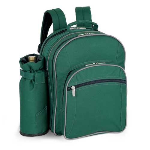 43338121000 - 4 PERSON PICNIC BAG HUNTER/GRAY GREEN (SORENTO)