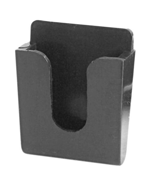 KMH4-B - Kalibur Black CB Microphone Clip