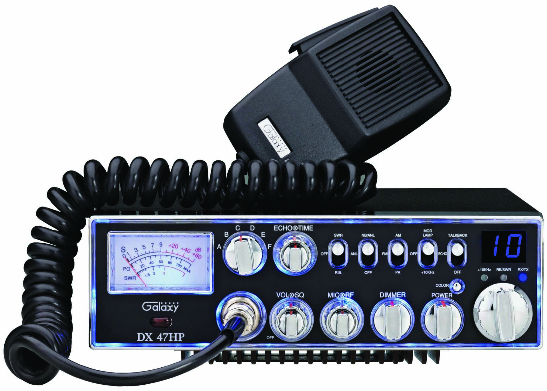 DX47HP - Galaxy 10 Meter Mobile Radio