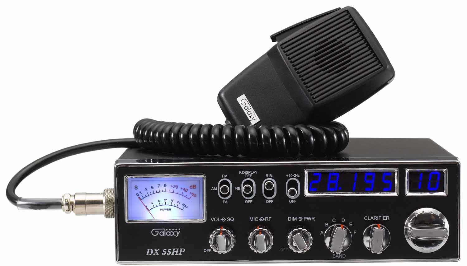 DX55HP - 45 Watt 10 Meter Radio