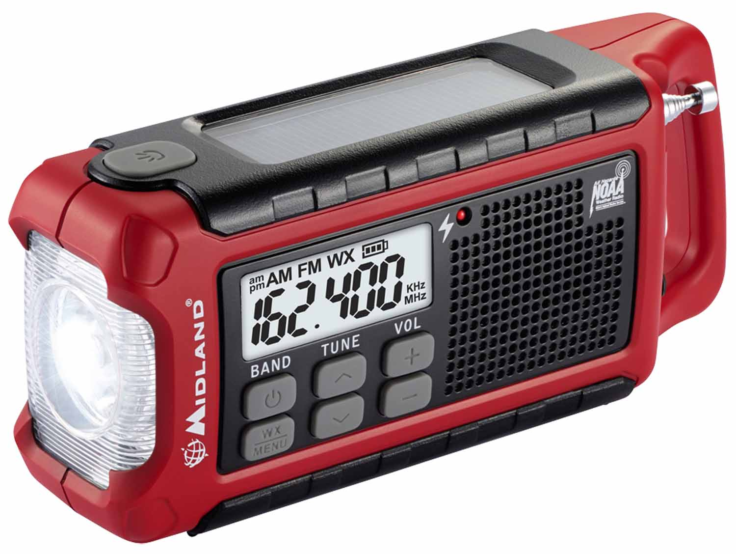 Midland Emergency AM/FM Crank Radio