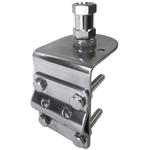 JBC995SS - ProComm Stainless Steel 3-Way Mount With SO239 Connector