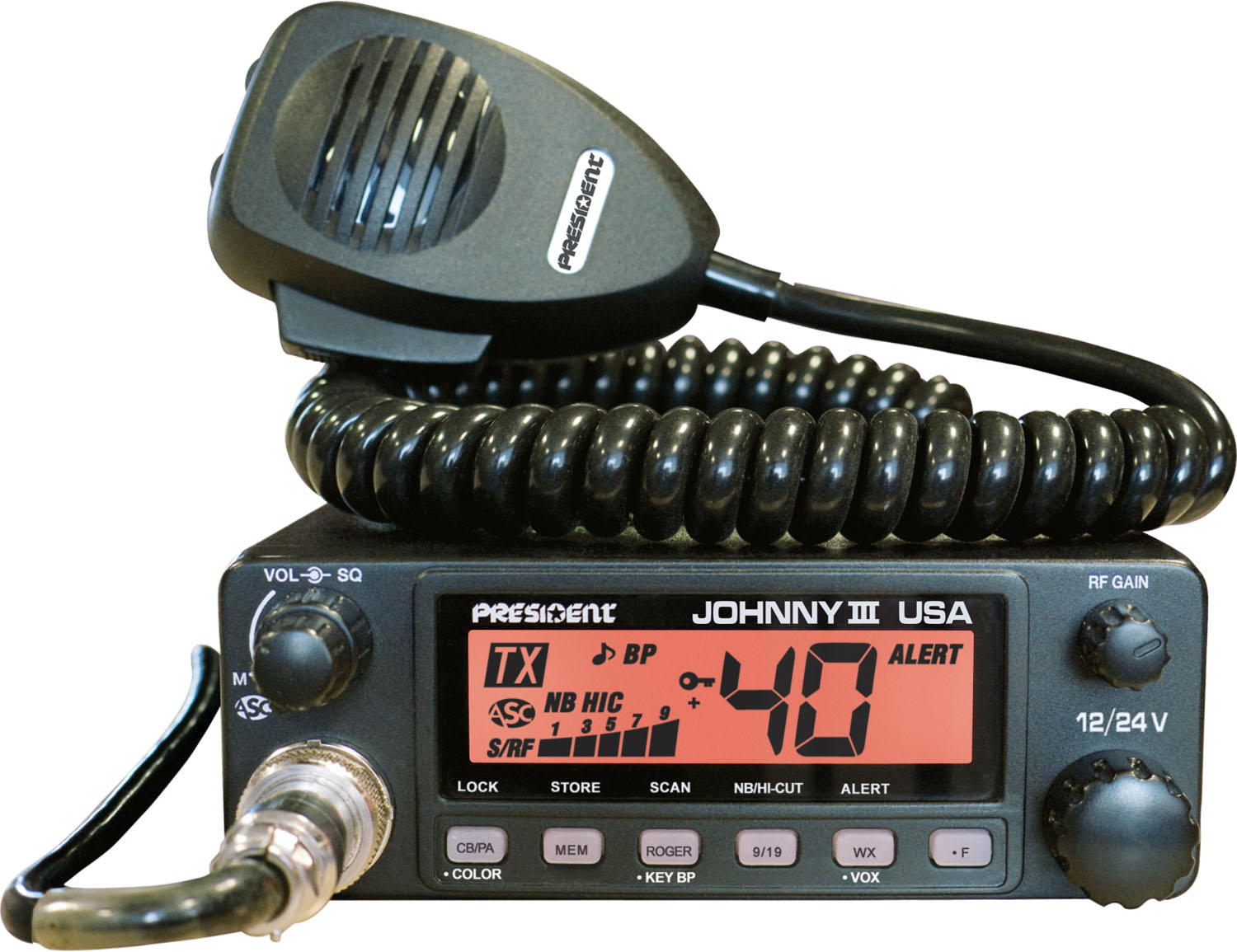 JOHNNY III - President  CB Radio