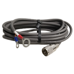 PL8X18 - ProComm 18' RG8X Coax Cable With Lug Connectors