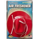 030403 - Red Cowboy Hat Strawberry Air Freshener