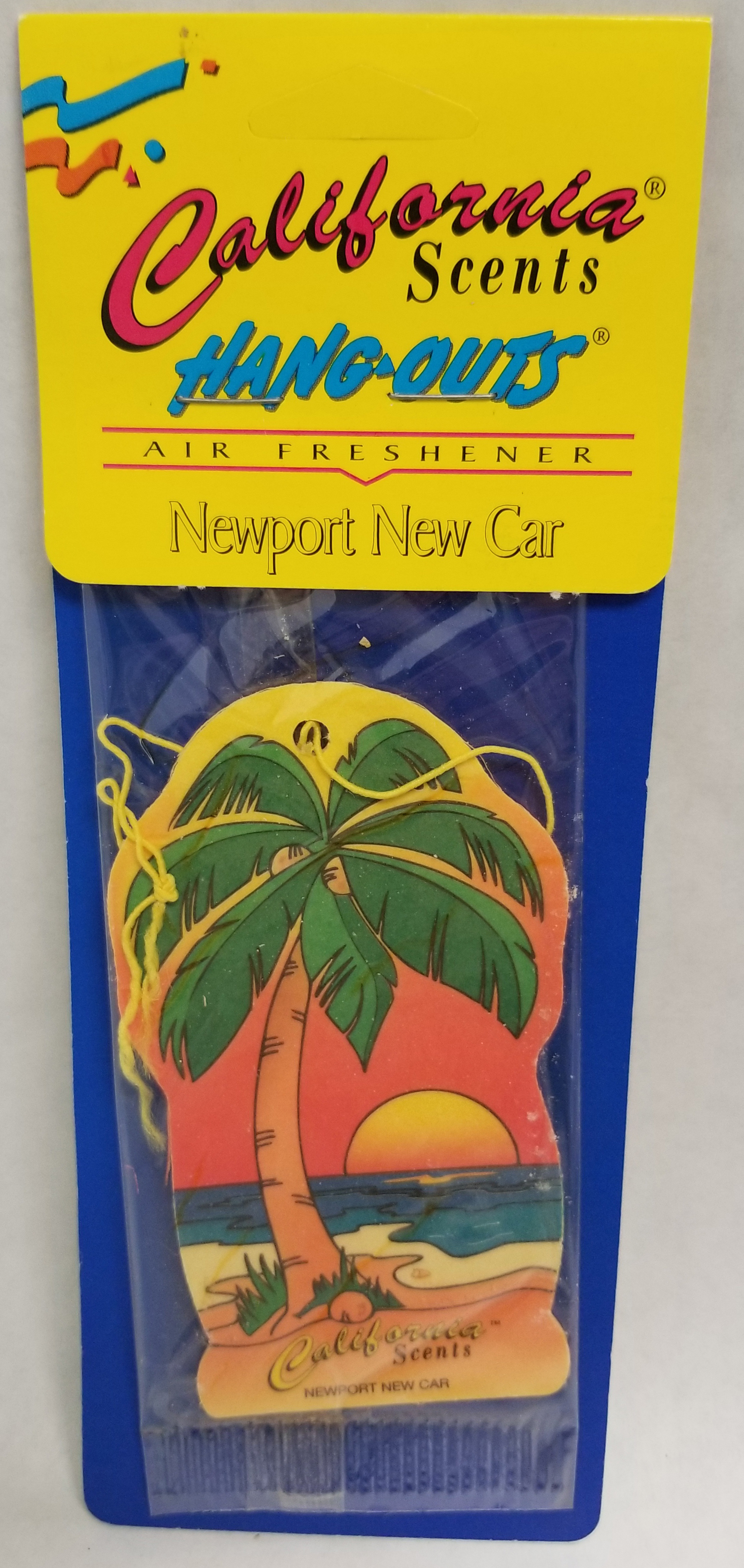 03096 - California Newport New Car Air Freshener