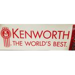 "0458071 - Kenworth Decal 6"" X 18"""