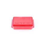 04910715R - Mini Red Rectangular Lens - Bulk