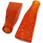 056BP505 - Toggle Switch Extension Amber Short Flat 2/Card