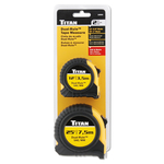 10903 - Titan 2 Piece Combo Tape Measure Set