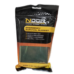 61420 - NDUR EMERGENCY SURVIVAL BLANKET OLIVE/SILVER