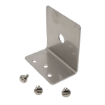 """TMB38 - Larsen Stainless Steel Antenna L Bracket With A 3/8"""" Hole"""