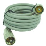 PP8X9A-G - Astatic 9' Grey Coax Cable