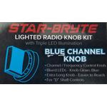 SRNK1-BL - Nitro Knob Channel Selector(Blue)