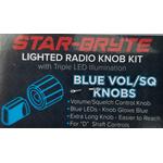 SRNK2-BL - Nitro Knob Volume/Squelch (Blue)