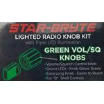 SRNK2-G - Nitro Knob Volume/Squelch (Green)