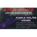 SRNK2-PUR  - Nitro Knob Volume/Squelch (Purple)