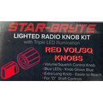 SRNK2-R   - Nitro Knob Volume/Squelch (Red)