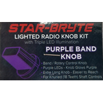 SRNK3-PUR - Nitro Knob Band Switch (Purple)