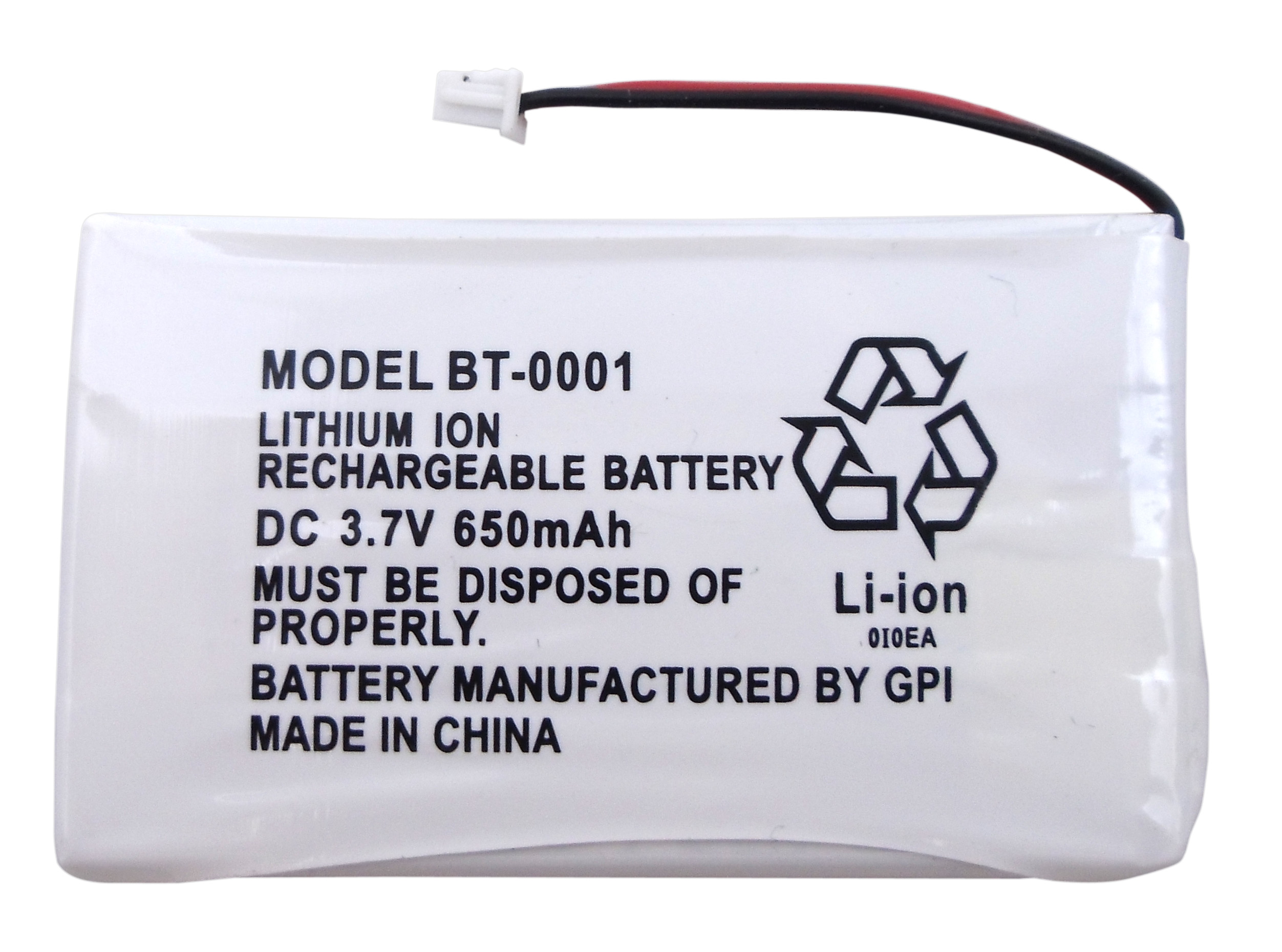 BBTY0531001-1 - Uniden Replacement Rechargeable Battery