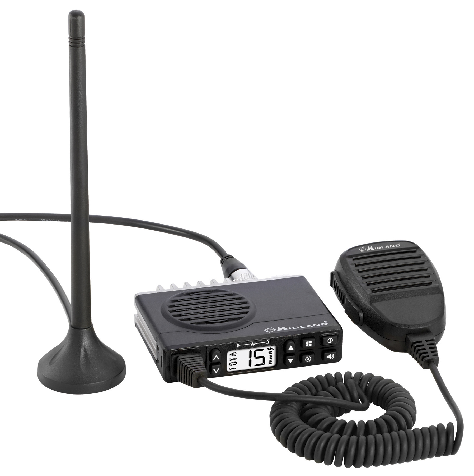 MXT100 - Midland 5 Watt 15 Channel Micro Mobile GMRS Radio