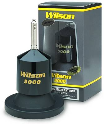 W5000MAG-B - Wilson 5000 Watt Black Magnetic Antenna Mount