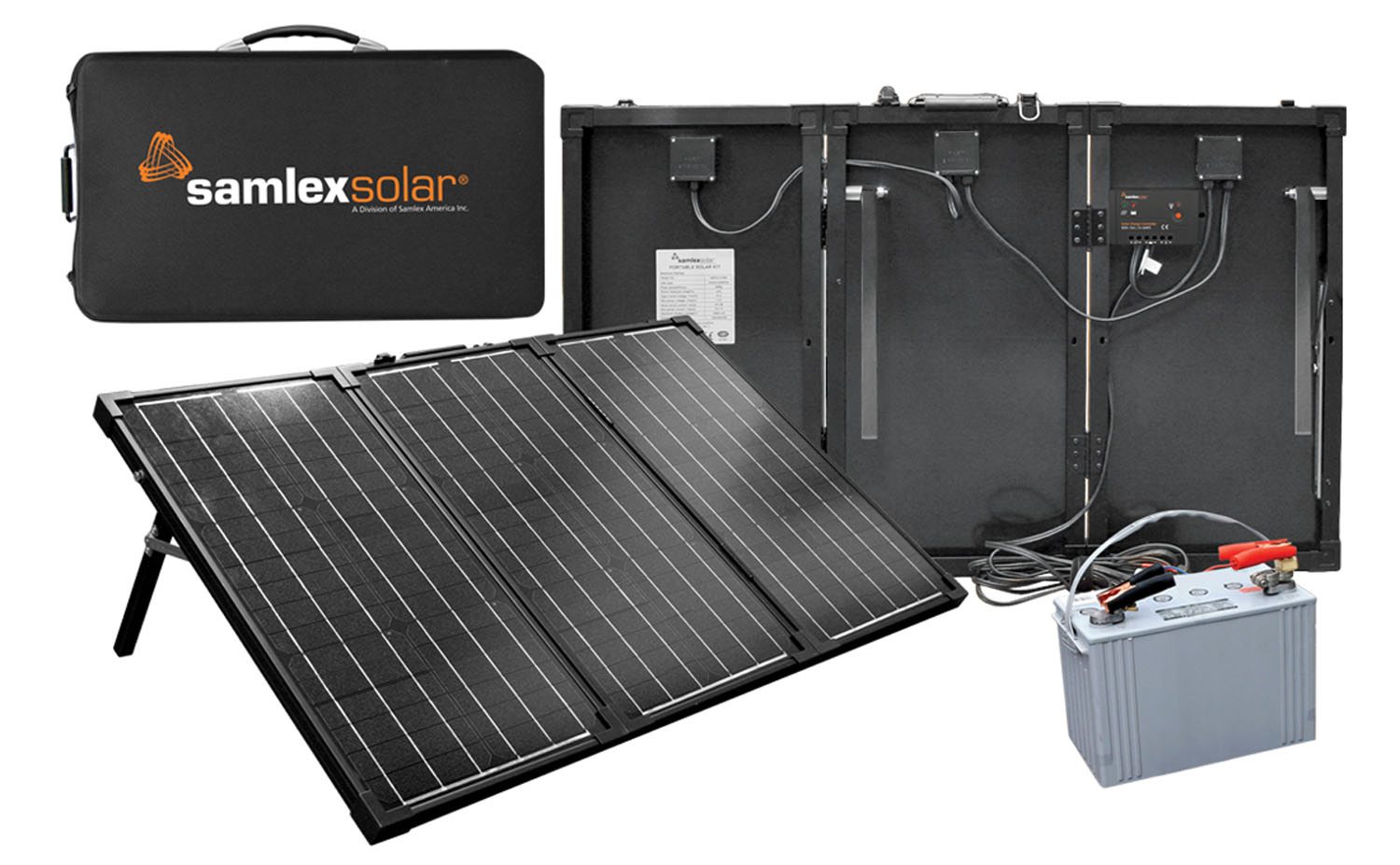 MSK135 - Samlex 135 Watt Portable Solar Charging Kit