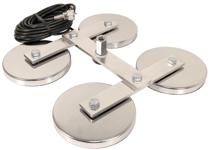 PCTM54 - ProComm Heavy Duty Quadruple Magnet Antenna Mount