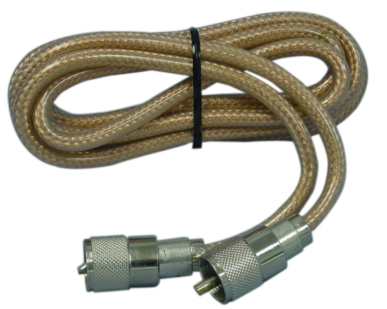 PP8X6-CX - ProComm 6'RG8X Coax Cable With PL259 Connectors