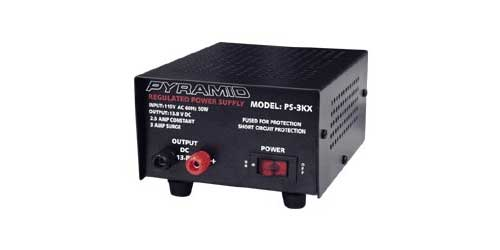 PS3 - Pyramid 2 Amp Constant / 3 Amp Surge 13.8V Power Supply