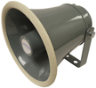 SPC15RP - Speco Weatherproof White Abs PA Public Address Speaker Horn