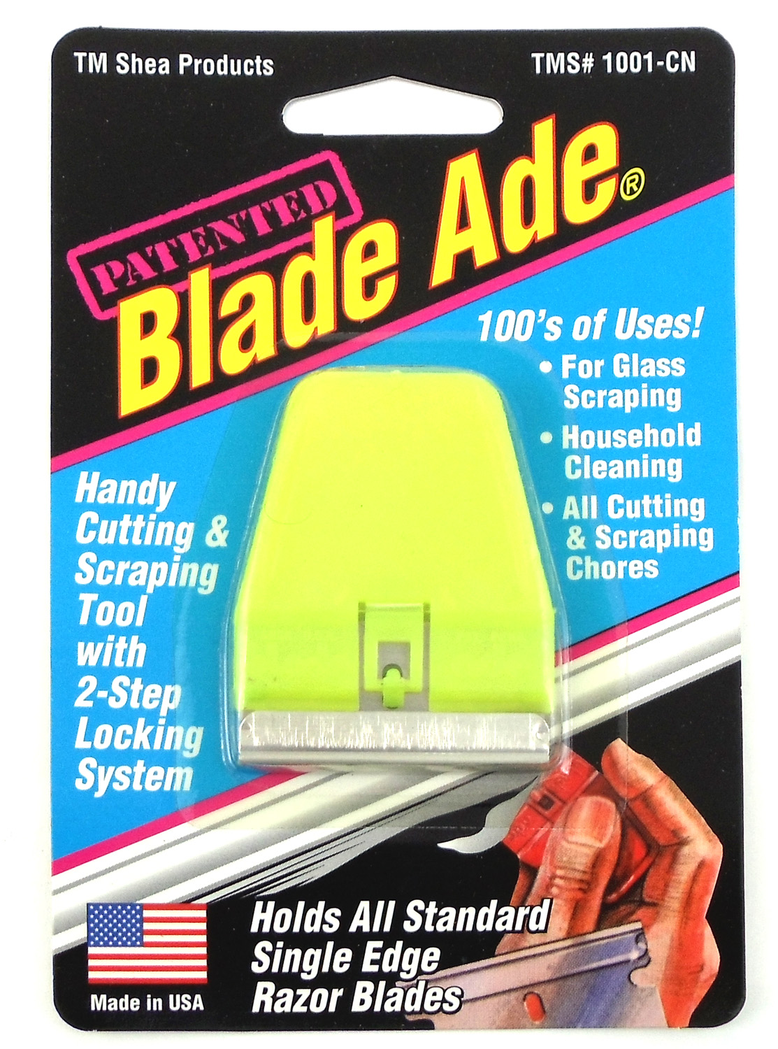 08601001 - Blade-Ade Handy Scraper & Cutting Tool - Carded (08601001)
