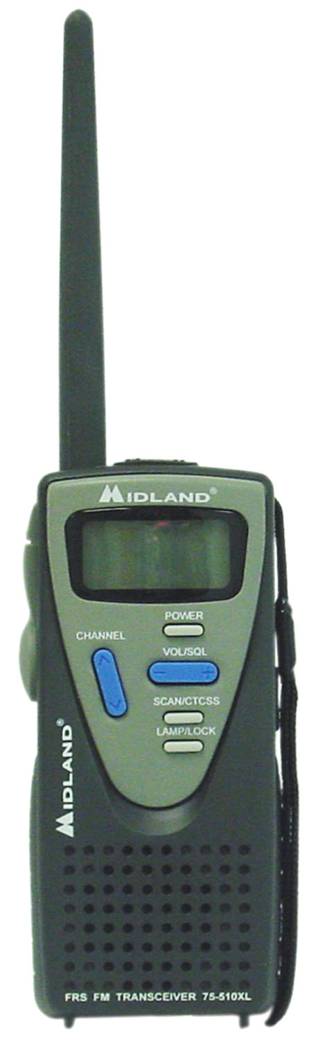75510XLB - Midland 14 Channel FRS Radio With Vox