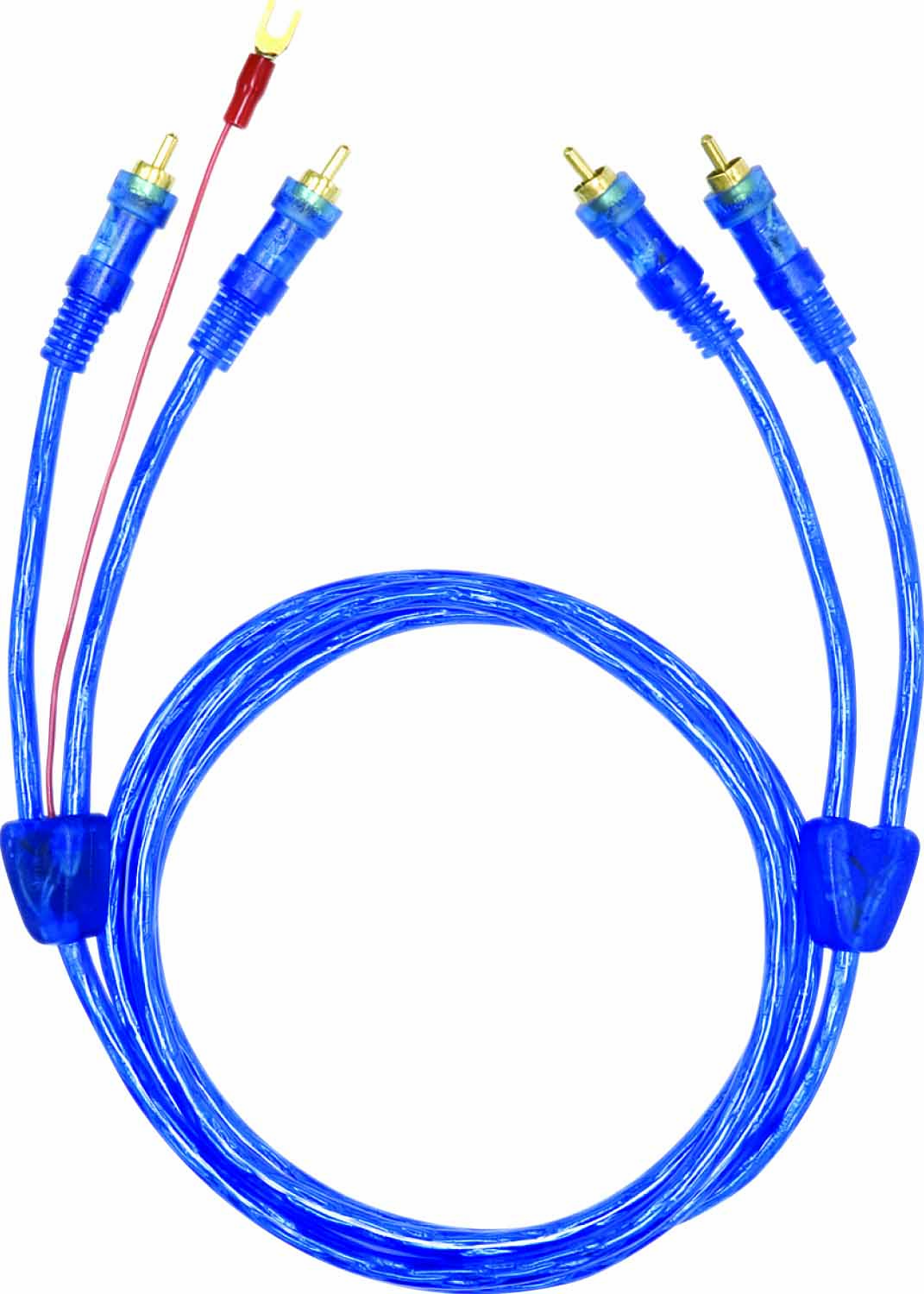 AML3 - Audiopipe High Heat Resistant PCA Cable w/Blue Led