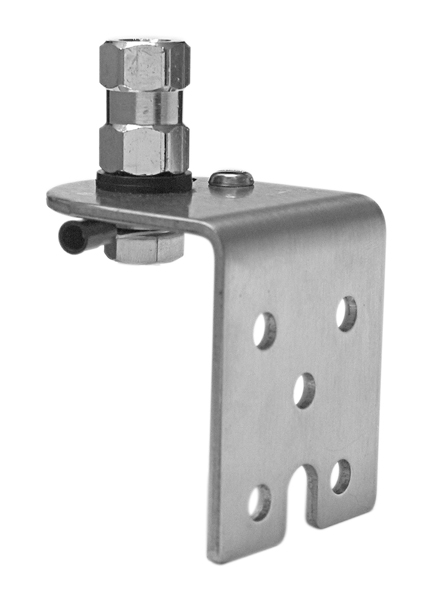 AUSM4 - Stainless Steel 90 Degree Antenna Mount
