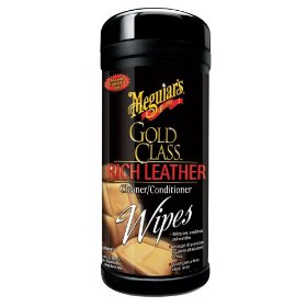 03710900 - MEGUIRES LINT FREE LEATHER WIPES