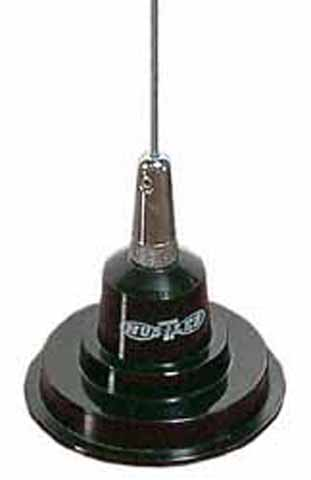 """IC100-X - Hustler 44"""" Base Load Magnet Mount Antenna Kit -Black or White"""