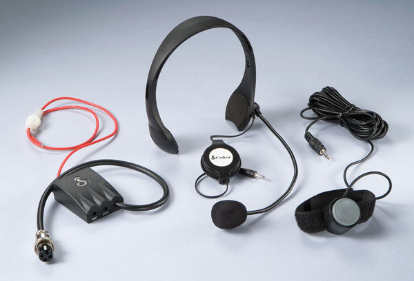 CAMS4 - Cobra® Hands Free Noise Canceling CB Microphone System