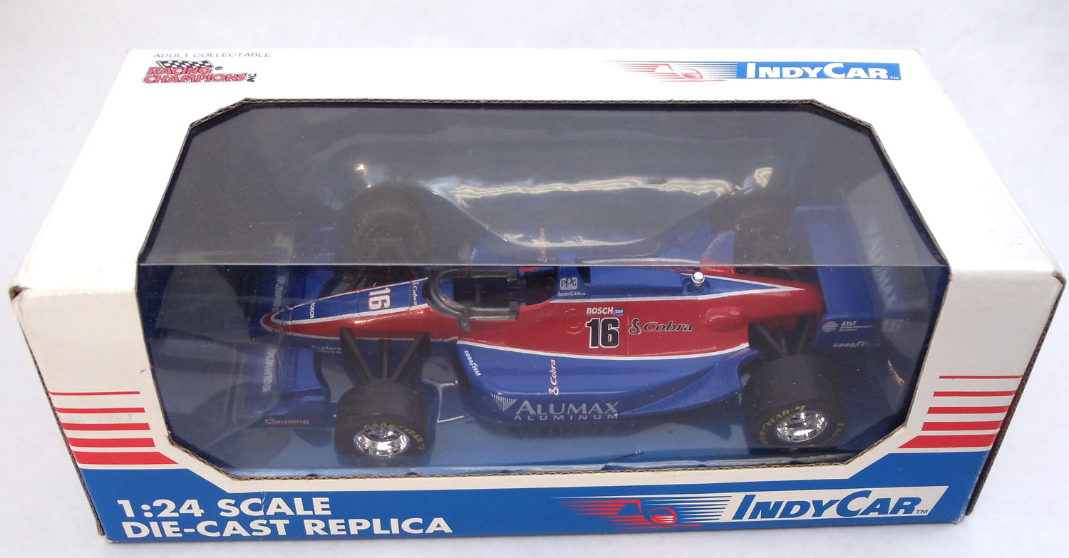 C-CAR - Cobra® 124 Scale Die Cast Replica Indy Alumax