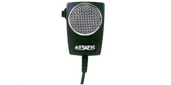 D104M6B-DX1 - Astatic 4 Pin Power CB Microphone