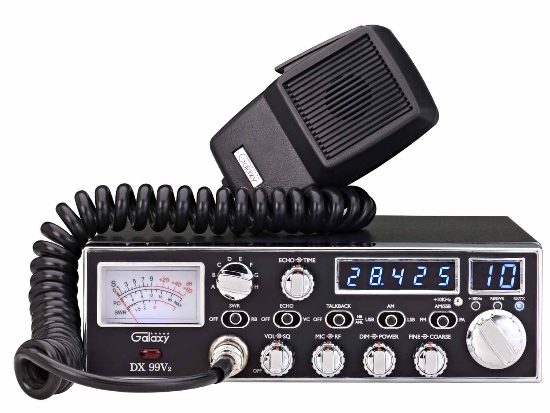 DX99V2 - Galaxy 45 Watt 10 Meter Amateur Ham Mobile Radio