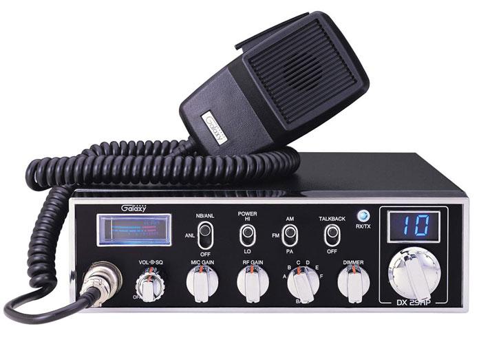 DX29HP - Galaxy 45 Watt 6 Band 10 Meter Amateur Ham Mobile Radio