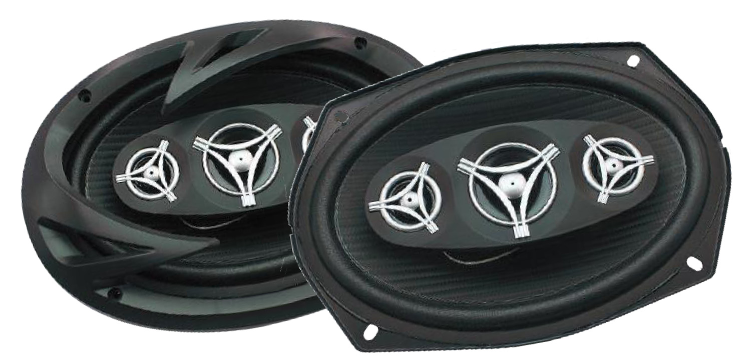 "EF694 - Power Acoustic 6"" x 9"" 4 Ohm Coaxial Speaker Pair"
