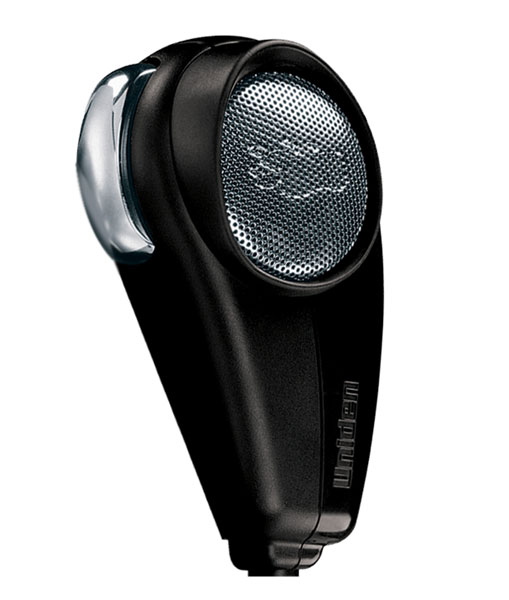 BC646 - Uniden 4 Pin Dynamic Microphone w/ 8' cord.